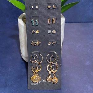 New! Free Press Dangle & Stud Earrings